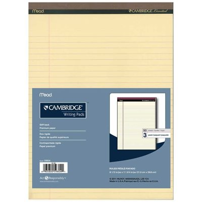 """Cambridge Limited"" office pad"