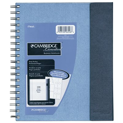 Cambridge® Archiving Notebook